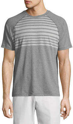 Peter Millar Rio Engineered Stripe Tech T-Shirt