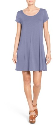 Women's Socialite Stripe Cross Back Shift Dress $34 thestylecure.com