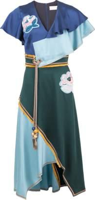 Peter Pilotto Color Block Dress