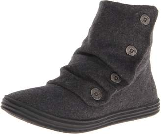 Blowfish Rabbit Women Round Toe Canvas Gray Boot