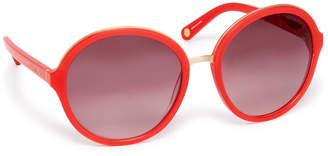 Henri Bendel London Round Sunglasses