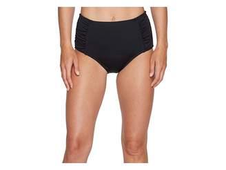 Jantzen Solid High Waisted Bottom Women's Swimwear