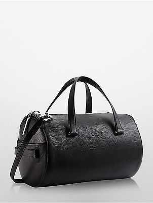 Calvin Klein Calvin Klein Womens Platinum Circled Medium Duffle Black