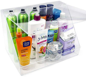 SORBUS Sorbus Acrylic Makeup Organizer Display Case & Palette Holder with Slanted Front Open Lid