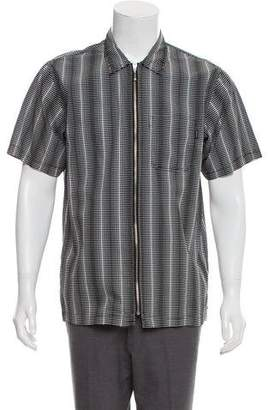 Supreme 2018 Dots Zip Up Shirt