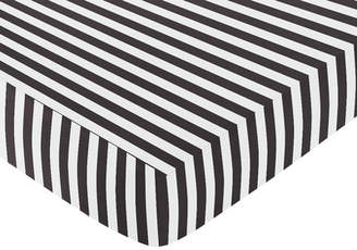 JoJo Designs Sweet Paris Fitted Crib Sheet