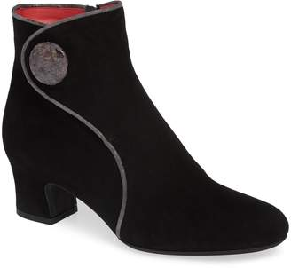 Pas De Rouge Alfa Button Bootie