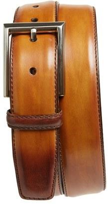 Men's Magnanni Catalux Leather Belt $150 thestylecure.com