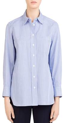 Gerard Darel Lina Striped Cotton Shirt