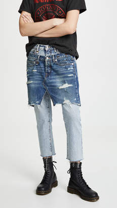 R 13 Double Front Jeans