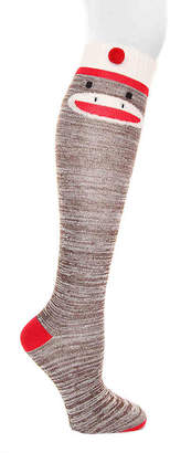 Mix No. 6 Sock Monkey Knee Socks - Women's