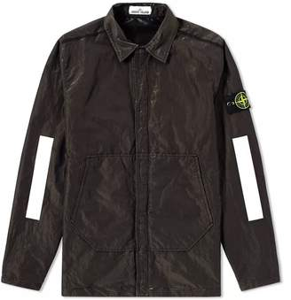 Stone Island Reflective Sleeve Metal GD Shirt Jacket