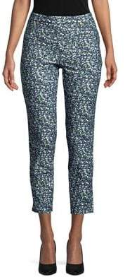 MICHAEL Michael Kors Tiny Wild Flower Cropped Pants