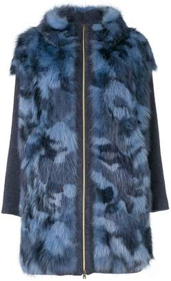 Herno panelled coat