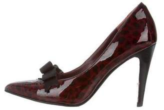 Marc by Marc Jacobs Patent Leather Pointer-Toe Pumps