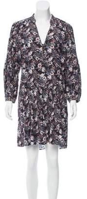 Veronica Beard Floral Print Silk Dress w/ Tags