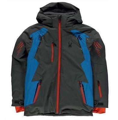 Vail Ski Jacket Junior Boys Waterproof Breathable Lightweight Hooded
