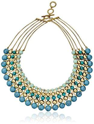 Carolee The Line The Line Dramatic Multi-Row Necklace
