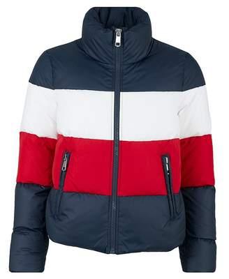 Tommy Hilfiger Tyra Boxy Tri Colour Jacket