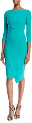 Chiara Boni Aitana Body-Con Dress w/ Asymmetric Details
