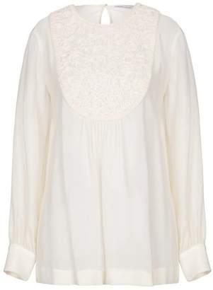 best loved b5013 847db Agnona White Long Sleeve Tops For Women - ShopStyle UK