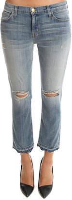Current/Elliott Cropped Straight Jean