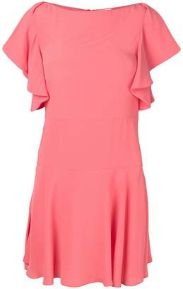 RED Valentino ruffle sleeve dress