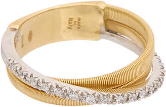 Marco Bicego Goa 18K Two-Tone Diamond Ring