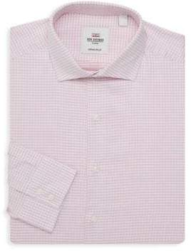 Ben Sherman Slim-Fit Checkered Dress Shirt
