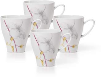 Mikasa Set of 4 Mugs
