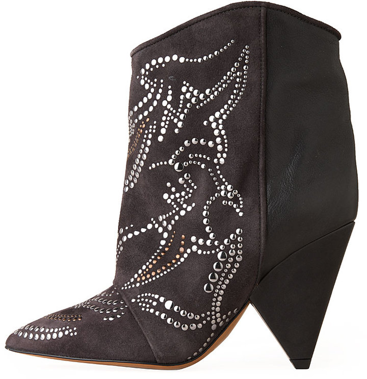 Isabel Marant / Memphis Studded Short Boot