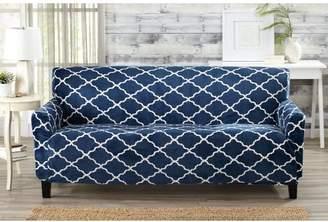 Alcott Hill Box Cushion Sofa Slipcover
