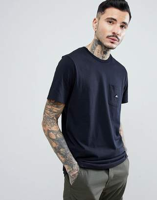 Penfield Southborough Logo Pocket T-Shirt in Black