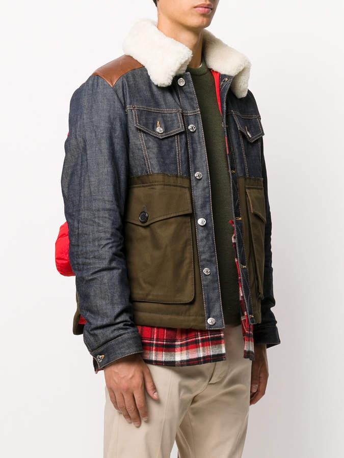 DSQUARED2 padded lumberjack jacket
