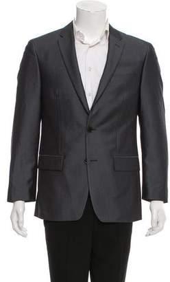 John Varvatos Woven Two-Button Blazer