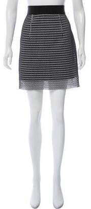 Milly Mesh Knee-Length Skirt w/ Tags