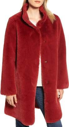 Velvet by Graham & Spencer Faux Fur Reversible Coat