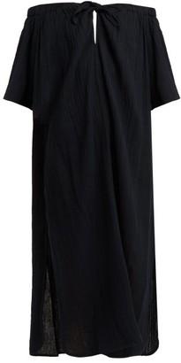 Mara Hoffman Kamala Off Shoulder Dress - Womens - Black
