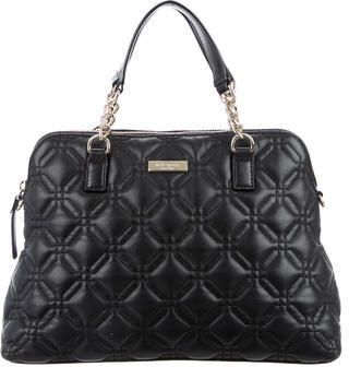 Kate SpadeKate Spade New York Quilted Leather Satchel