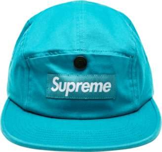 Supreme Snap Button Pocket Camp Cap - Teal