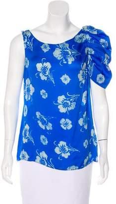 Leifsdottir Silk One-Shoulder Top