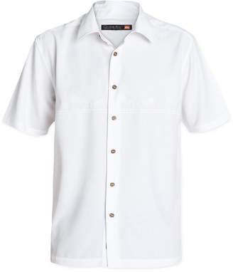 Quiksilver Waterman Men Tahiti Palms Short-Sleeve Shirt