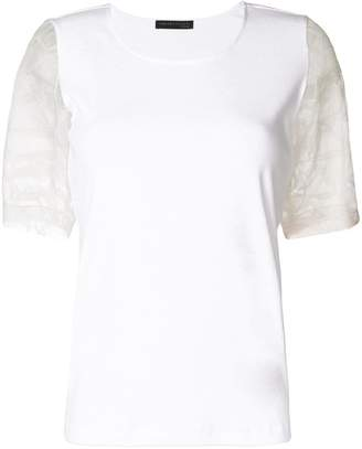 Fabiana Filippi contrast sleeves T-shirt
