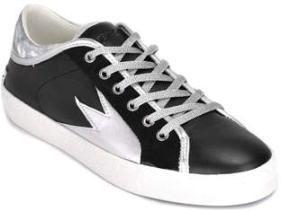 Crime London Faith Lo - Leather Low Top Sneaker
