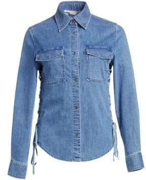 Stella McCartney Denim Button-Down Shirt