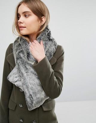 Oasis Faux Fur Tippet Scarf $38 thestylecure.com