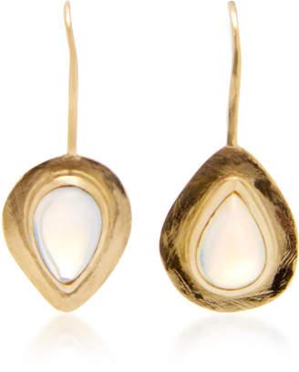 Katey Walker 18K Yellow Gold Drop Earrings