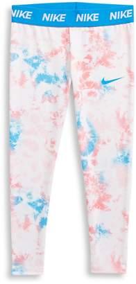 Nike Little Girl's Just Do It Sublimated Dye Leggings