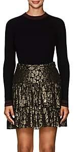 A.L.C. Women's Tenney Stripe-Detailed Wool-Blend Sweater - Black