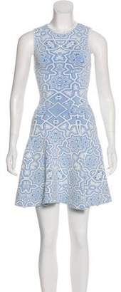 Torn By Ronny Kobo Patterned Mini Dress